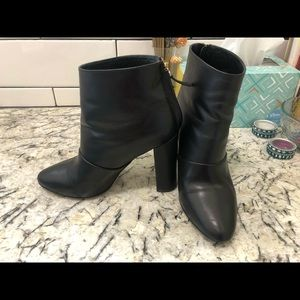 J. Crew leather ankle boots